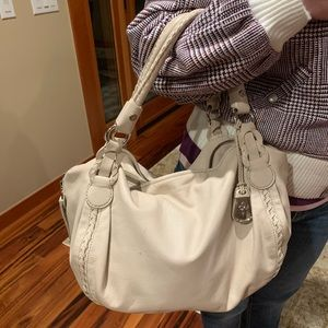 Cole Haan Leather Hobo Bag